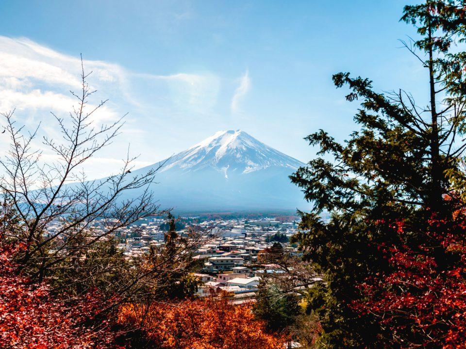 Fuji japon