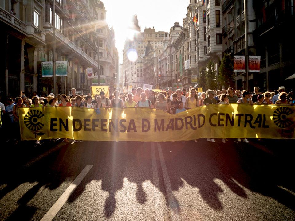 manifestacion madrid central