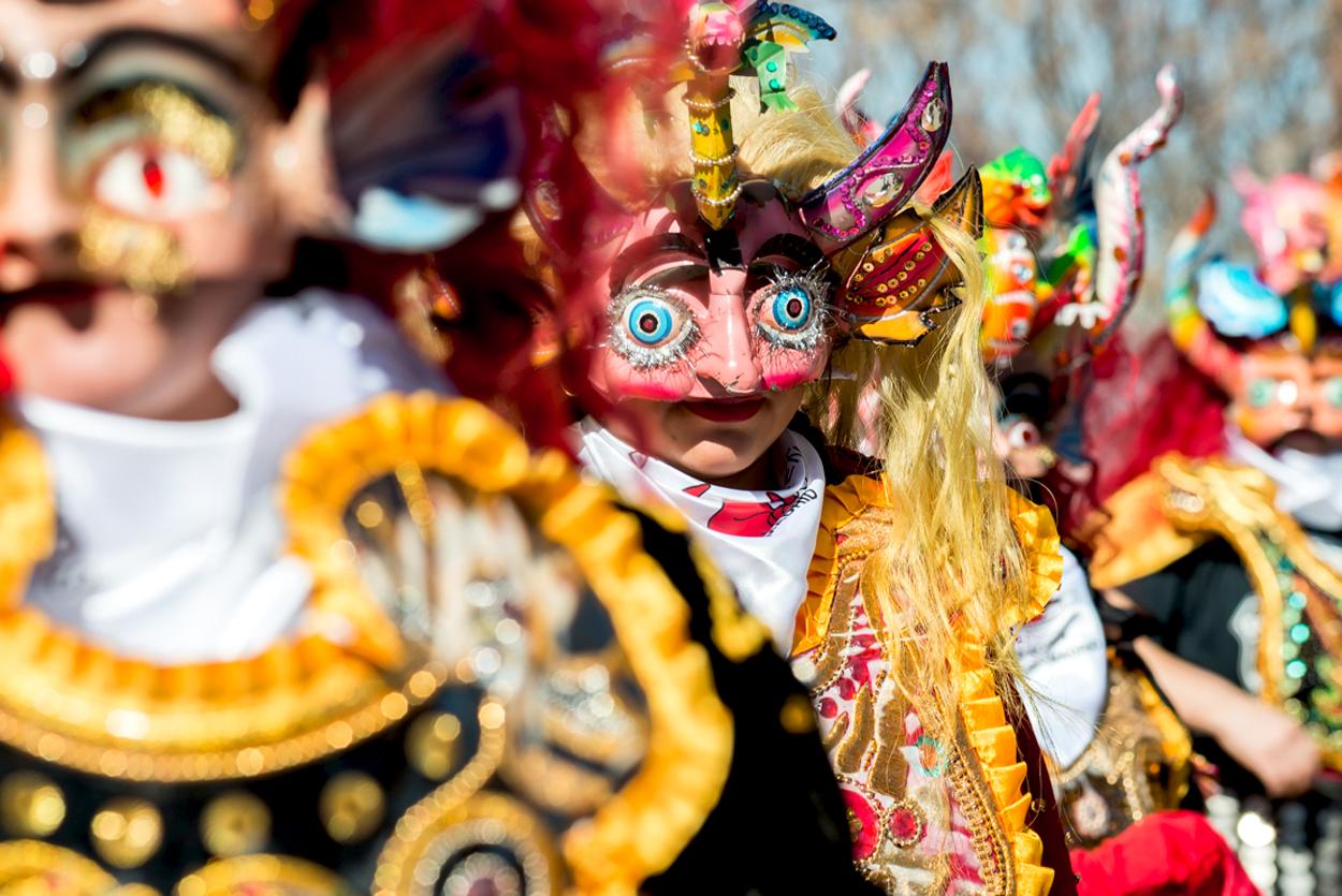 Folklore carnaval madrid