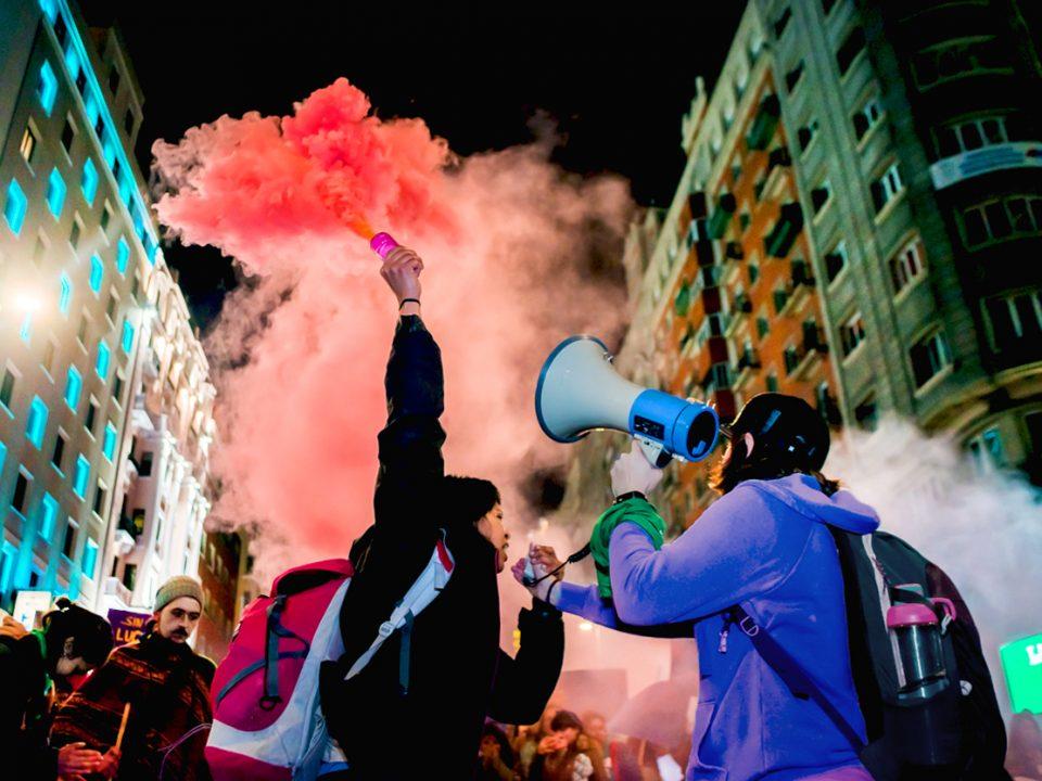 manifestacion 8m feminista madrid