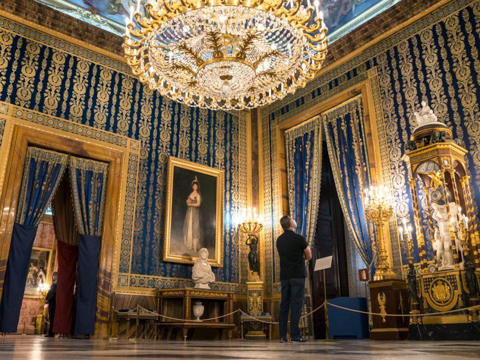 salones del palacio real de madrid