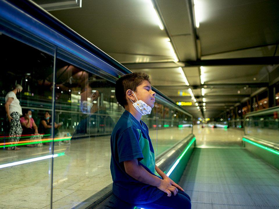 varados en el aeropuerto