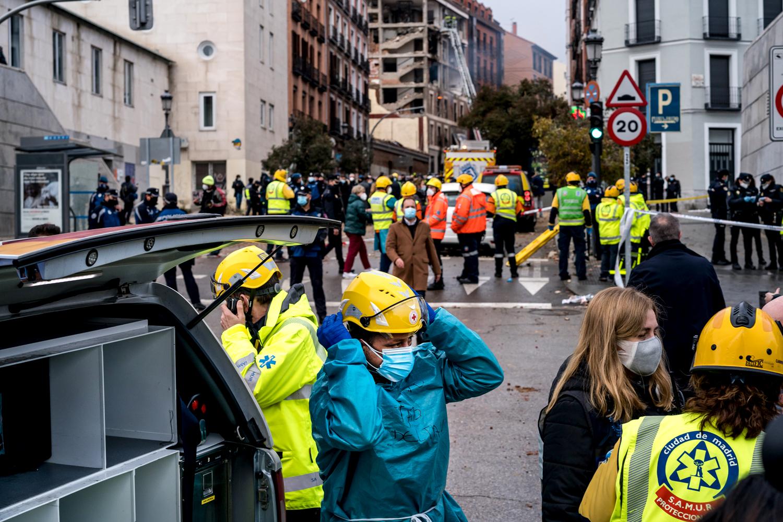 Explosión en Calle Toledo, Madrid.